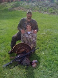 Turkey hunt with Dad