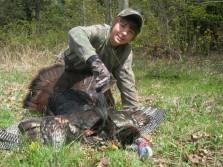 One Happy Youth Turkey Hunter