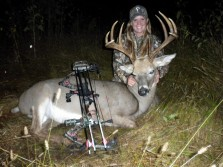 Awesome Buck Taken by Huntress