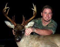 Black faced whitetail