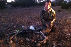 First bow kill ever