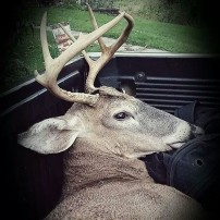 First buck with in 2014
