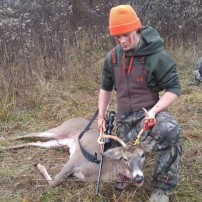 Mature 5 point at 140 yards