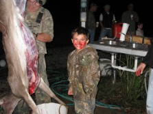 Michael's First Deer