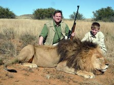 South African Lion Hunting
