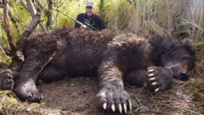 Supposedly record grizzly