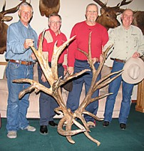 World's Record Non-Typical Elk