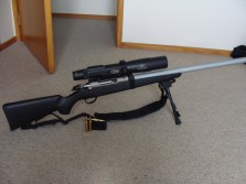 Tikka T3 Lite with Burris Eliminator scope