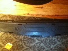 My gun and new gun case