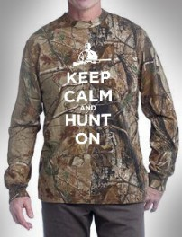 Realtree Keep Calm and Hunt On