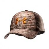 Under Armour Camo 2-Tone Stretch Fit Cap Headwear