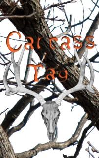 White & Black Carcass Tag