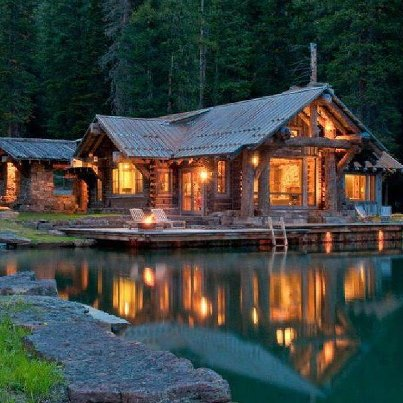 Hunting Cabin Of My Dream Hunting