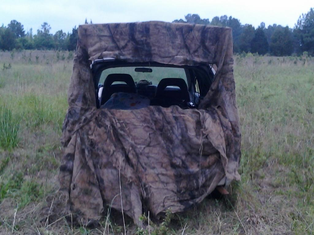 Lay Down Blinds >> redneck blind | Hunting