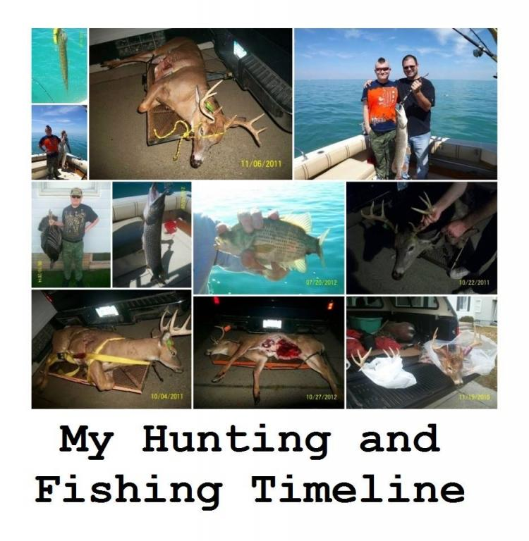hunting and fishing timeline michigan hunting