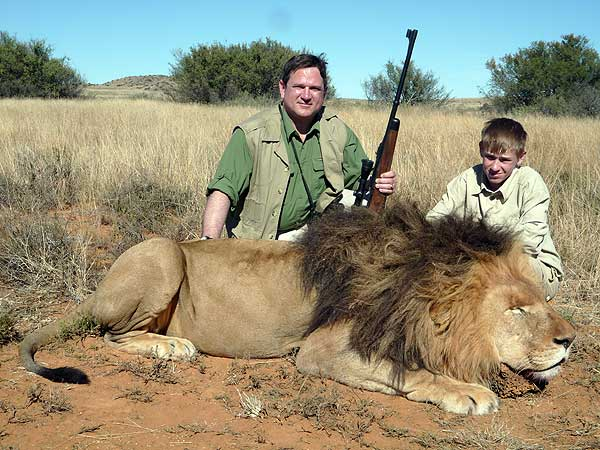 South African Lion Hunting, South Africa   Hunting