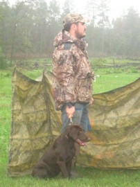 Running our first hunt test