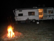 the night before opening day of the 2011 white tail season