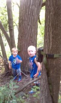 Outdoor Fun With The Boys