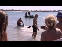 British Grandfather Saves Children from Shark