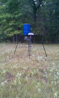 deer feeder i just built