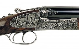 Incredible Engraved Shotgun
