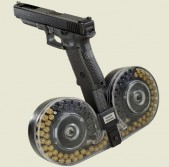 Glock extended magazine.