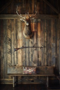 A Hunting Lodge with Some Style