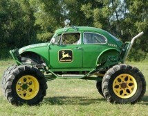 John Deere mud bug!