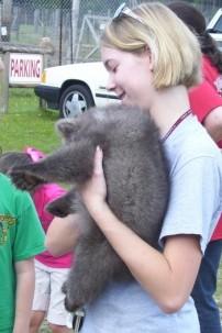 Miranda, Grizzly cub