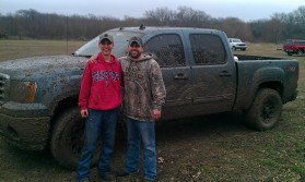 Mudding with my son
