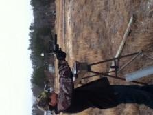 Shootin guns for fun