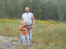 shooting with my nephew 2