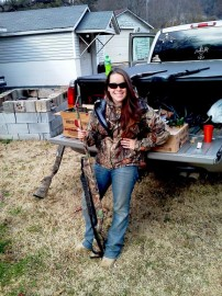 Skeet Makes a Huntress Happy