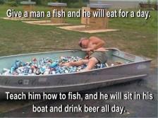 teach a man