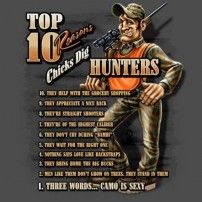 Top 10 Reasons Chicks Dig Hunters