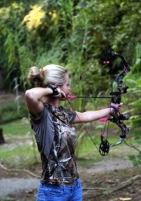 Just Something about Girls that Bow Hunt