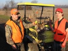 2008 shotgun hunt, 9pt down, 2nd deer