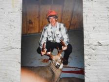 3 horned buck