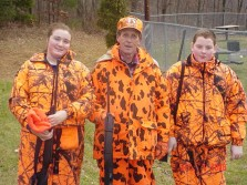 Pap and the grand kids deer hunting
