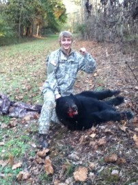 My Only Black Bear!!!