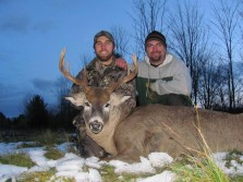 2010 Bow Kill (me and my buddy)
