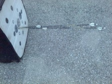 Just bustin nocks and destroying arrows... Wait they are expensive:(