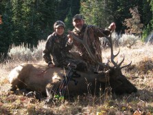 a wyoming bull elk hunt
