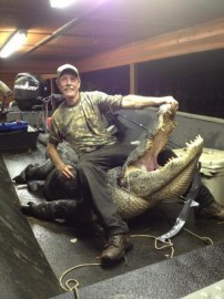 Arkansas's biggest alligator ever.