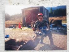 Big woods mountain buck
