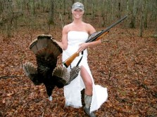 Bride and Her Turkey