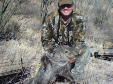 Brother with archery Javelina