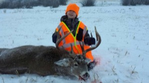 Carters first hunt