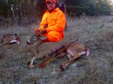 DADS FIRST DEER